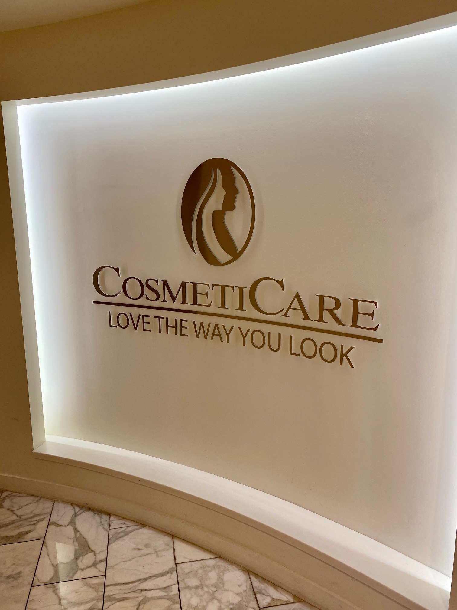 cosmeticare plastic surgery and medspa lobby